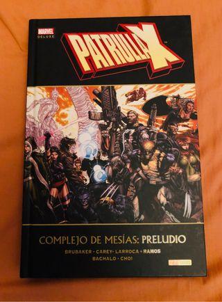 Patrulla X Marvel deluxe complejo de Mesias