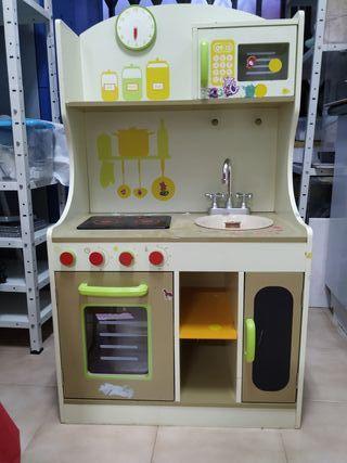 cocina juguete madera