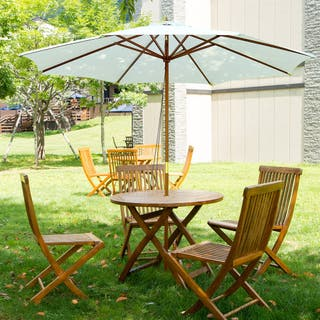 Sombrilla de Madera para Jardín/Terraza/Cafetería