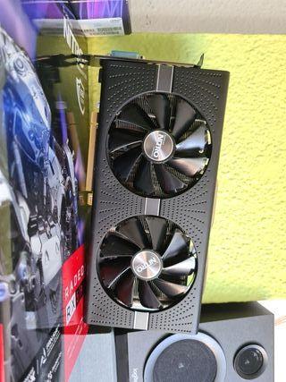 CPU INTEL i5 9400 y tarjeta gráfica AMD Sapphire