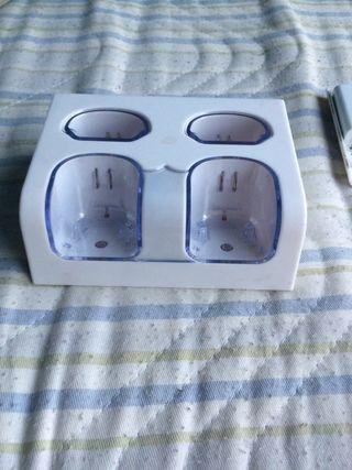 Cargador de baterías de Wii