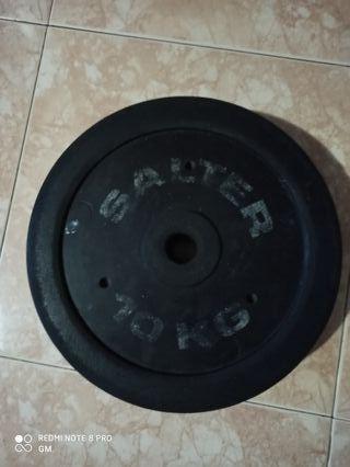 Discos de pesas SALTER