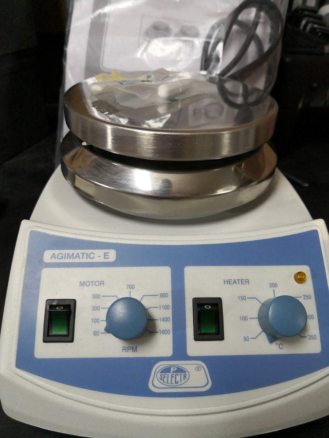 Agitador magnetico Agimatic-E con calefaccion