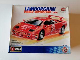 Maqueta Coche Lamborghini