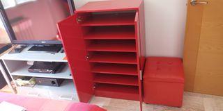 armario zapatero estanteria archivador.