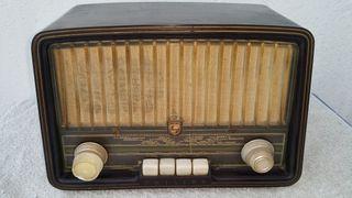 Radio Antigua de válvulas Philips