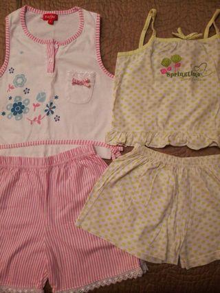 2 pijamas niña verano 8 años PICK QUICK