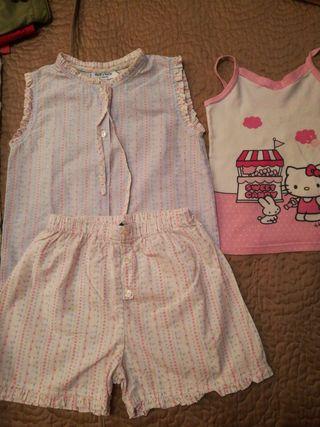 pijama verano niña 4 años NECK&NECK+camiseta hello