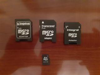 Adaptadores y micro sd