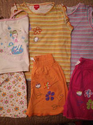 3 pijamas verano niña 4 años PICK QUICK