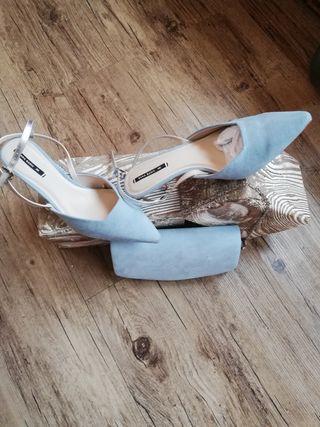 Conjunto de Zapatos Zara+bolso