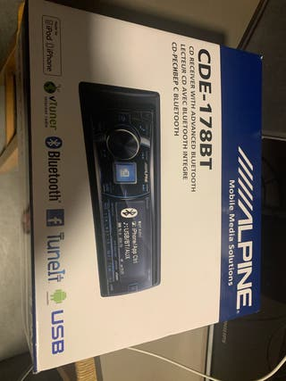 Radio CD / Bluetooth ALPINE CDE-178BT