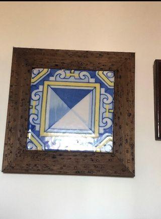 Azulejo antiguo / abriguedades