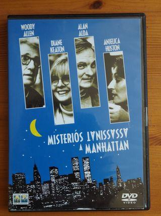 DVD Misteriós assassinat a Manhattan de Woody Alle