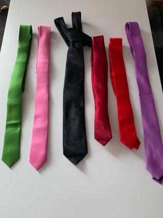 6 corbatas Adulto