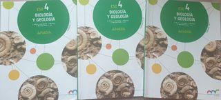 Libros biología y geología 4ESO