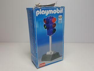 Dificil Semaforo Playmobil 3264 Antiguo Señal
