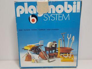 Dificil Set Herramientas Playmobil 3297