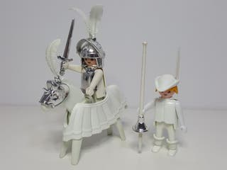 Dificil Set Medieval Color Playmobil 3624