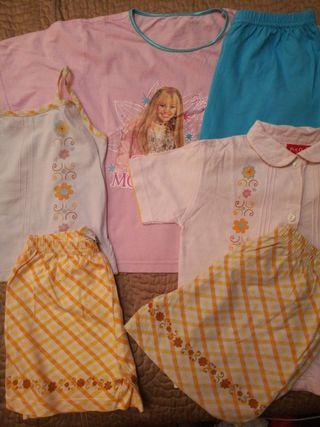 3 pijamas niña verano 6 años PICK QUICK