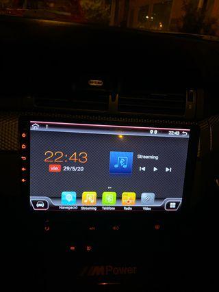 "Pantalla coche Android 2 DIN 10"" Táctil"