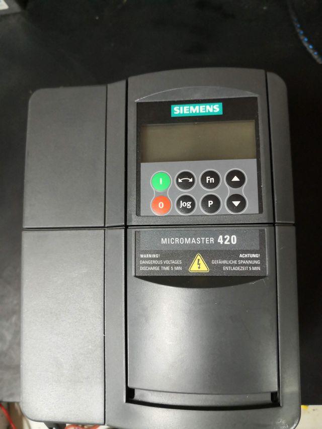 Variador micromaster 420 3kw 6SE6420-2UD23-0BA1
