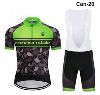 Equipación ciclismo verano Cannonda-le-20 M