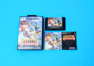 Gunstar Heroes / Mega Drive
