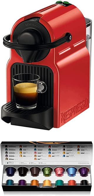 Cafetera monodosis de cápsulas Nespresso