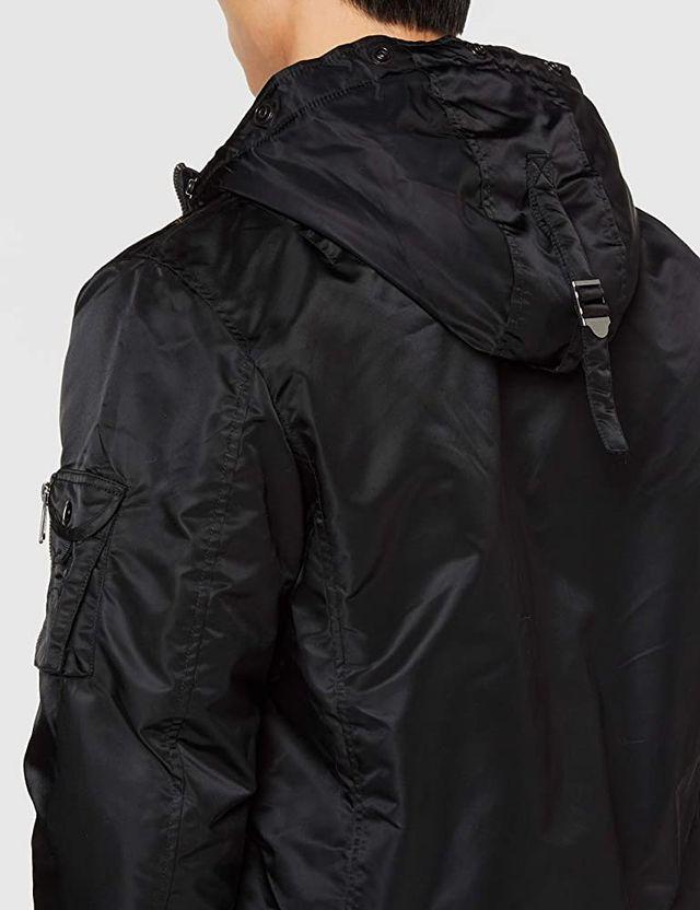 Chaqueta bomber Schott NYC negra talla XL nueva