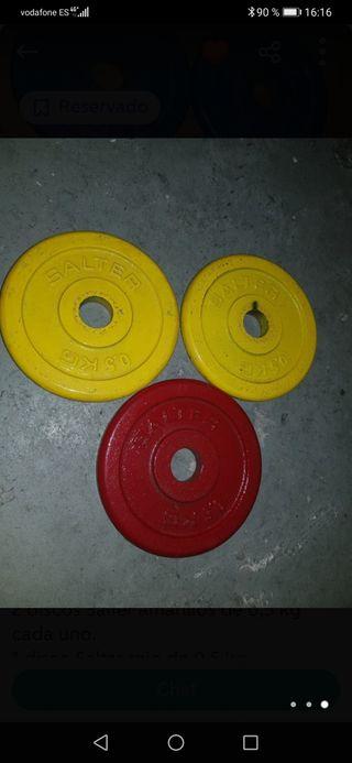 discos pesas