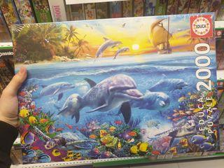 puzzle 2000 piezas fondo marino