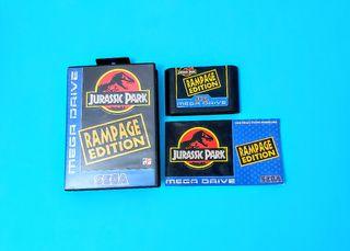 Jurassic Park: Rampage Edition / Mega Drive
