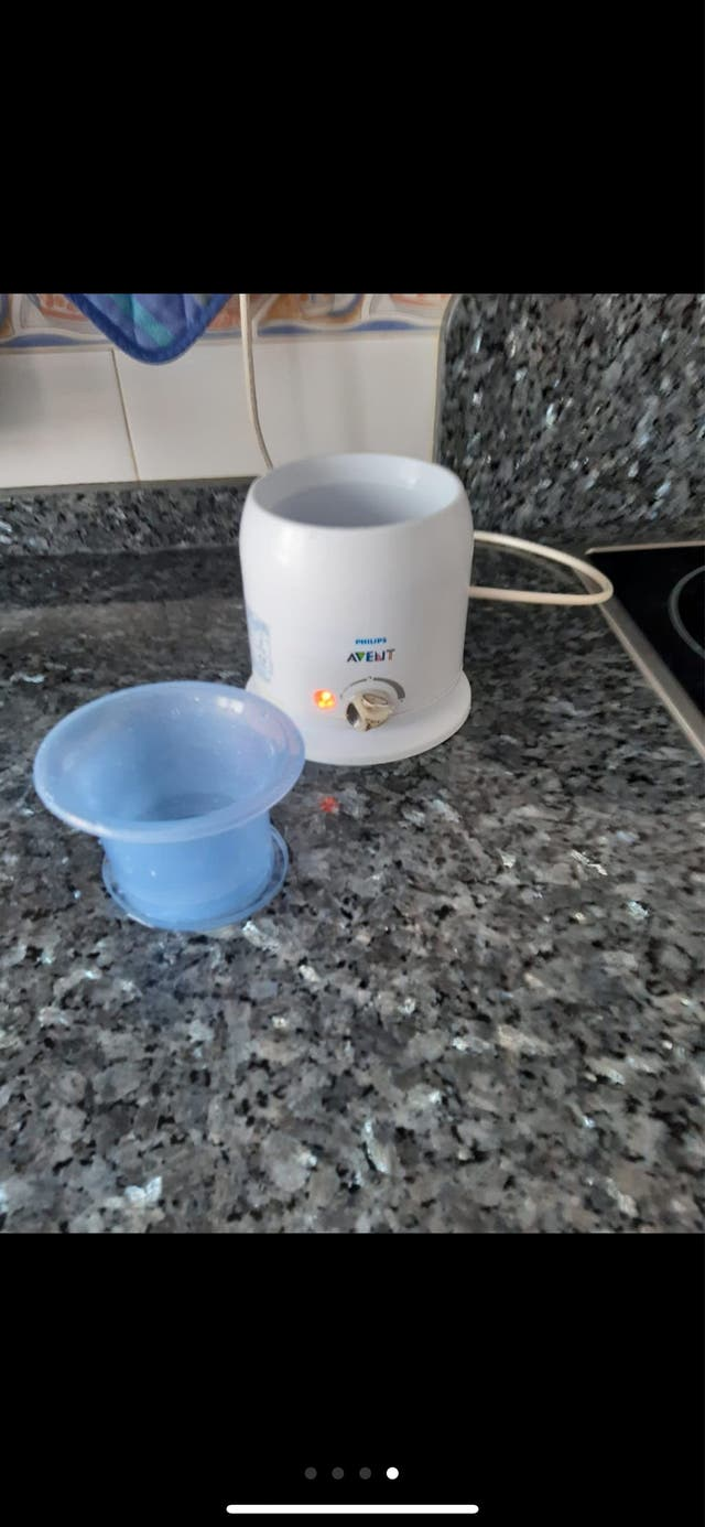 Calienta biberones-potitosPHILIPS AVENT PERFECTO