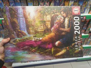 puzzle 2000 piezas novios