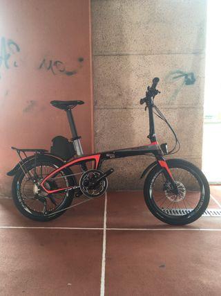 Bicicleta plegable electrica carbono