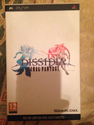Videojuego edición coleccionista PSP