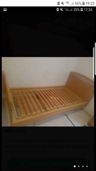 se vende cama ortopédica articulada