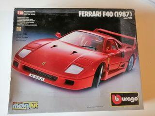 Maqueta Ferrari f40