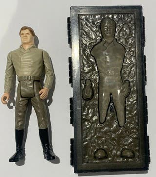 LAST 17 HAN SOLO CARBONITE COMPLETO 1984 KENNER