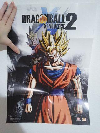 póster dragon ball