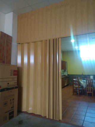 puerta corredera biombo