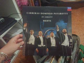 LP carreras, domingo Pavarotti mehta