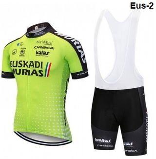Equipación ciclismo verano Euskadi-2 t- L