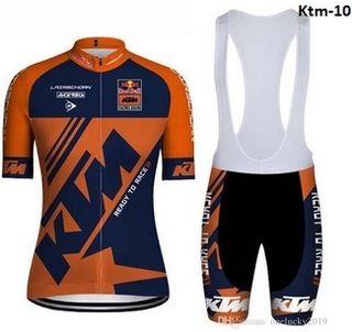 Equipación ciclismo verano KTM-10 t. M