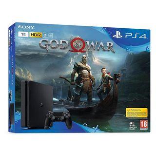 Caja PlayStation 4 Edición God Of War 4