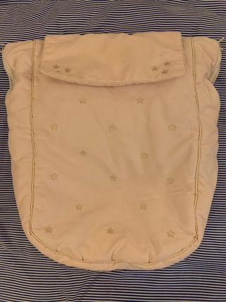Funda silla bebé rosa de piqué