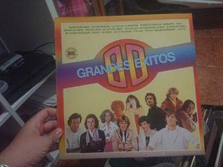 LP grandes éxitos 80