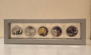 Set Random de monedas Plata/Oro