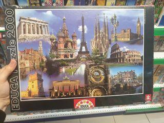 puzzle 2000 piezas edificios europeos